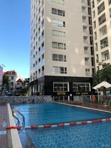 Cho thuê căn Offictel Sky Center Phổ Quang, dt 43m2 căn góc 2 mt view hồ bơi. LH 0938298663