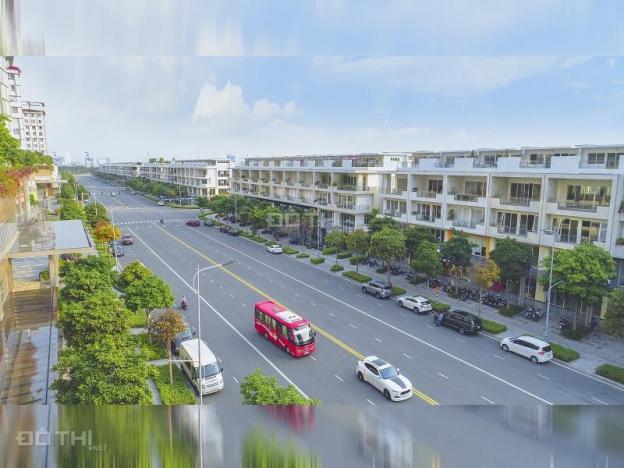 Căn đôi nhà phố thương mại cho thuê 1 hầm, 4 tầng tại Sari Town khu ĐT Sala