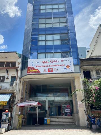 Cho thuê building Q. 1 - Giá chỉ 250tr/th / DT: 9m x 21m, hầm, 8 lầu, 1200m2 sàn