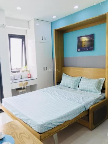Cho thuê căn hộ mini giường thông minh - giờ giấc tự do - khóa từ vân tay an ninh