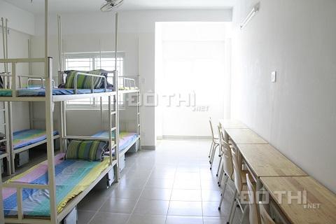 Cho thuê giường tầng ký túc xá sinh viên (đối diện ĐH Bách Khoa), full nội thất, giá rẻ