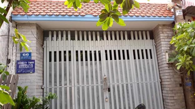 Cho thuê nhà 1 trệt 2 lầu ngay mặt tiền 66 Đường Bùi Quang Là Phường 12 Gò Vấp